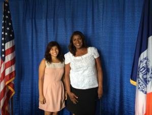 Zameena and Ms.James