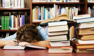 Woman-asleep-with-books-002